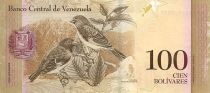 Venezuela 100 Bolivares Simon Bolivar - Petits cardinals