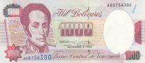 Venezuela 1000 Bolivares S. Bolivar - 1992