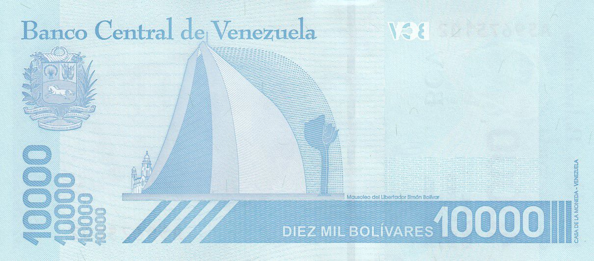 Venezuela 10000 Bolivares Simon Bolivar - 2019 (2020) - Neuf