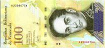 Venezuela 100000 Bolivares Simon Bolivar - Petits cardinals - 2017