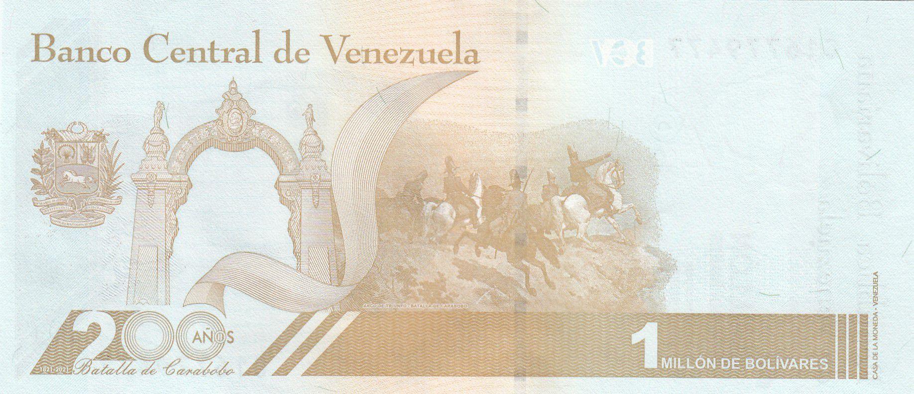 Venezuela 1.000.000 Bolivares Simon Bolivar - 2020 - Neuf