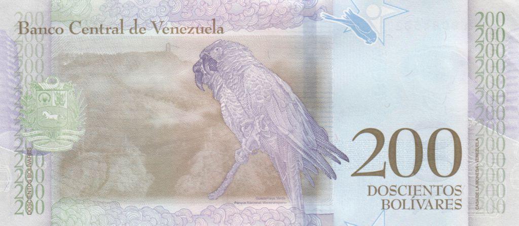 Venezuela 200 Bolivares Francisco de Miranda - Perroquet - 2018