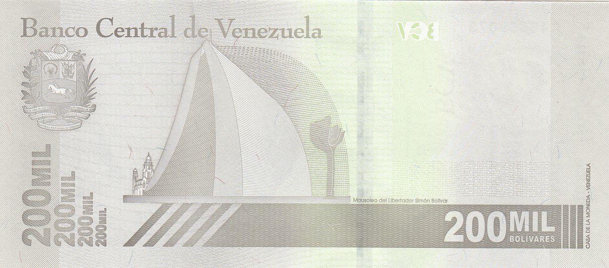 Venezuela 200000 Bolivares Simon Bolivar - 2020 - Neuf