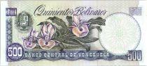 Venezuela 500 Bolivares Simon Bolivar - Orchids  - 1998