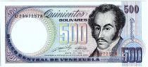 Venezuela 500 Bolivares Simon Bolivar - Orchids - 31/05/1990