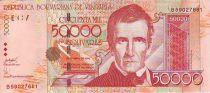 Venezuela 50000 Bolivares José Maria Vargas - Immeuble
