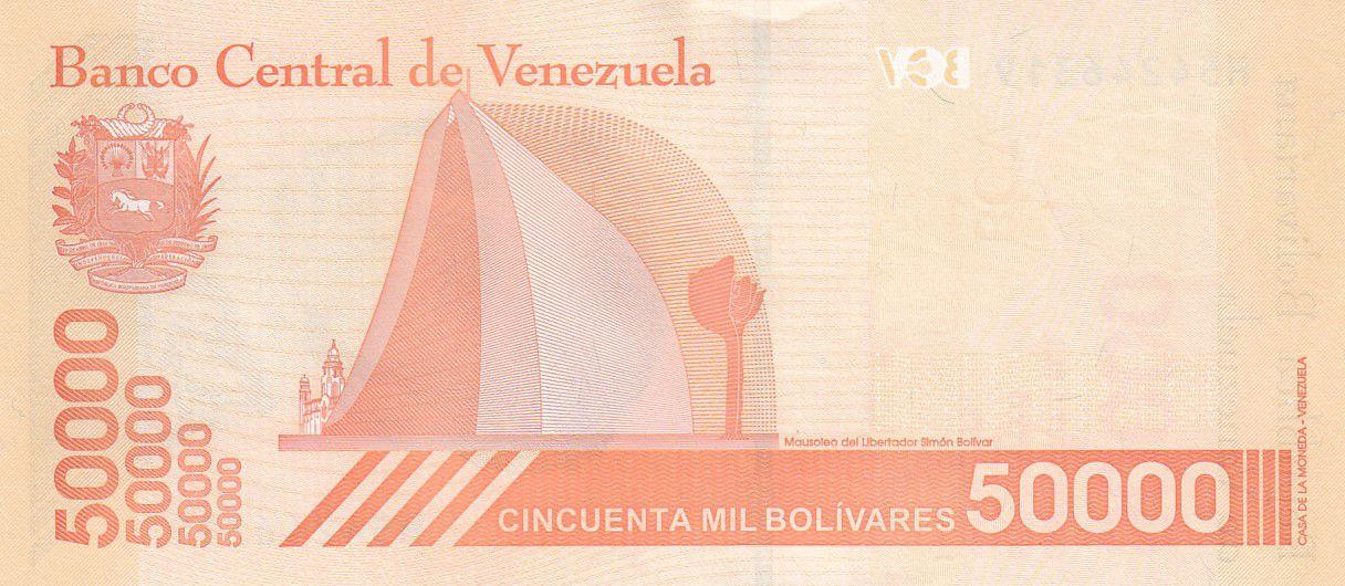 Venezuela 50000 Bolivares Simon Bolivar - 2019 (2020) - Neuf