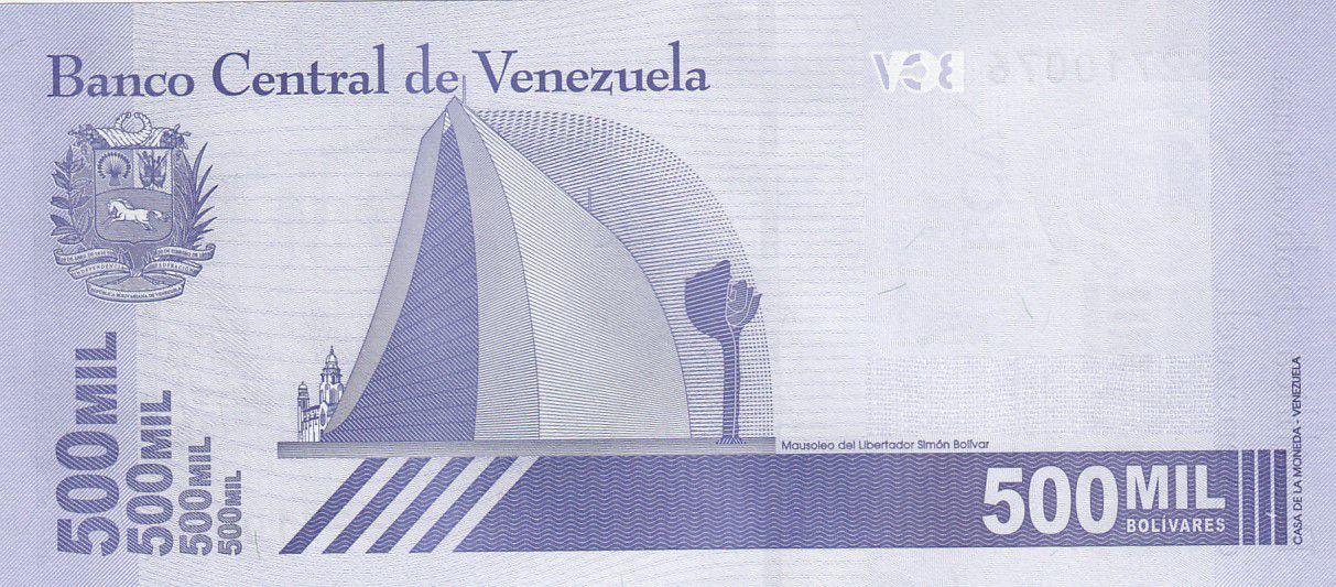 Venezuela 500000 Bolivares Simon Bolivar - 2020 - Neuf
