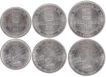 Venezuela Set 3 coins - Simon Bolivar - 2016