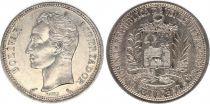 Venezuela Y.37.a 1 Bolivar, Simon Bolivar - 1960