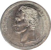 Venezuela Y.37.a 1 Bolivar, Simon Bolivar - 1965