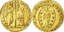 Venice Sequin, Ludovico Manin (1789-1797)  doge - Nimbate Christ - Gold