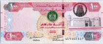 Vereinigte Arabische Emirate 100 Dirhams Fortress - Falcon - 2014