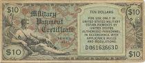 Vereinigte Staaten von Amerika 10 Dollars Serial 481 - 1951