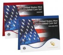 Vereinigte Staaten von Amerika Uncirculated Coin Set 2017 - 20 coins D and P