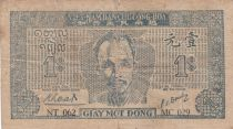 Viet Nam 1 Dong Ho Chi Minh - 1947 - P.9a without watermark