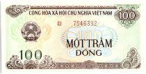 Viet Nam 100 Dong,  Arms - Temple  - 1991 - P.105