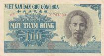 Viet Nam 100 Dong Ho Chi Minh - 1951 - VF to XF - P.62b