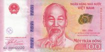 Viet Nam 100 Dong Ho Chi Minh - 65 years of State Bank 2016
