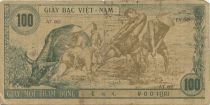 Viet Nam 100 Dong Ho Chi Minh - Farmers, buffalos