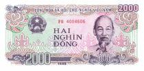 Viet Nam 2000 Dong Ho Chi Minh - Textil factory - 1988