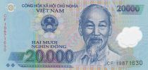 Viet Nam 20000 Dong Ho Chi Minh - Temple 2014 Polymer - UNC
