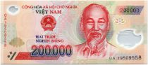Viet Nam 200000 Dong Ho Chi Minh - Ha Long Bay 2019 Polymer