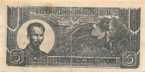Viet Nam 5 Dong Ho Chi Minh 1948 - Serial S.057946 - F+