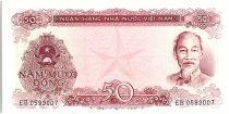 Viet Nam 50 Dong,  Ho Chi Minh - Mining  - 1976 - P.84