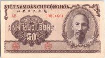 Viet Nam 50 Dong Ho Chi Minh - Farmers - 1951 - P.61 b