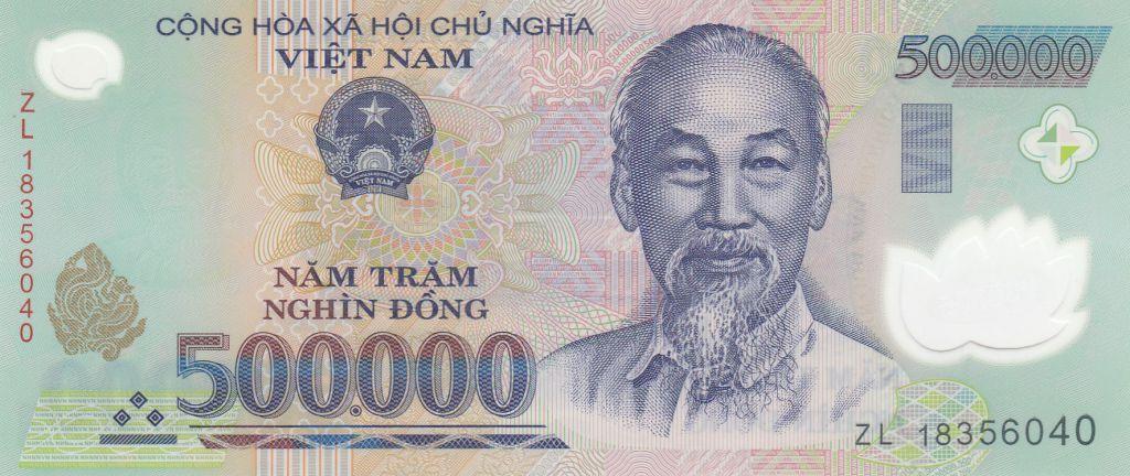 Viet Nam 500000 Dong Ho Chi Minh - Farm - 2018 Polymer - UNC - P.124