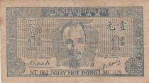 Vietnam 1 Dong Ho Chi Minh - 1947 - P.9a sans filigrane