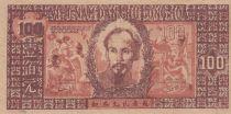 Vietnam 100 Dong Ho Chi Minh - 1948 - P.28a Série UQ055-XW078