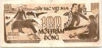 Vietnam 100 Dong Ho Chi Minh, soldats - Travailleurs 1951 Série A G