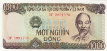Vietnam 1000 Dong Ho Chi Minh, Extraction minière