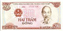 Vietnam 200 Dong, Ho Chi Minh - Tracteur - 1987 - P.100
