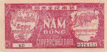 Vietnam 5 Dong Ho Chi Minh - 1948 - P.17a sans filigrane