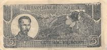 Vietnam 5 Dong Ho Chi Minh 1948 - Série H.073065 - TTB