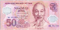 Vietnam 50 Dong Ho Chi Minh - Batiment - 2001