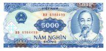 Vietnam 5000 Dong Ho Chi Minh - Usine électrique - 1991