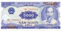 Vietnam 5000 Dong Ho Chi Minh - Usine électrique