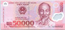 Vietnam 50000 Dong Ho Chi Minh - Monuments 2016