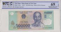 Vietnam 500000 Dong Ho Chi Minh - Farm - 2017 Polymer - PCGS 69 OPQ