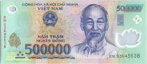 Vietnam 500000 Dong Ho Chi Minh - Maison, champs - 2003