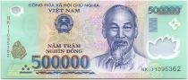 Vietnam 500000 Dong Ho Chi Minh - Maison, champs 2011