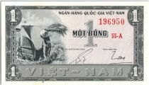 Vietnam du Sud 1 Dong,  Paysan - 1955 - SPL - P.11