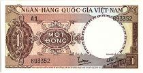 Vietnam du Sud 1 Dong, Brun - Tracteur - 1964 - P.15  - Alp A1