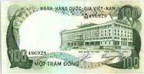 Vietnam du Sud 100 Dong, Palais de l\'indépendance - Buffles d\'eau - 1972 - P.31
