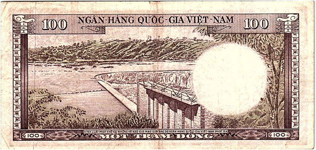 Vietnam du Sud 100 Dong 1996 - TTB - Série L.4 - P.18