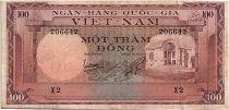 Vietnam du Sud 100 Dong 1996 - TTB - Série X.2 - P.18